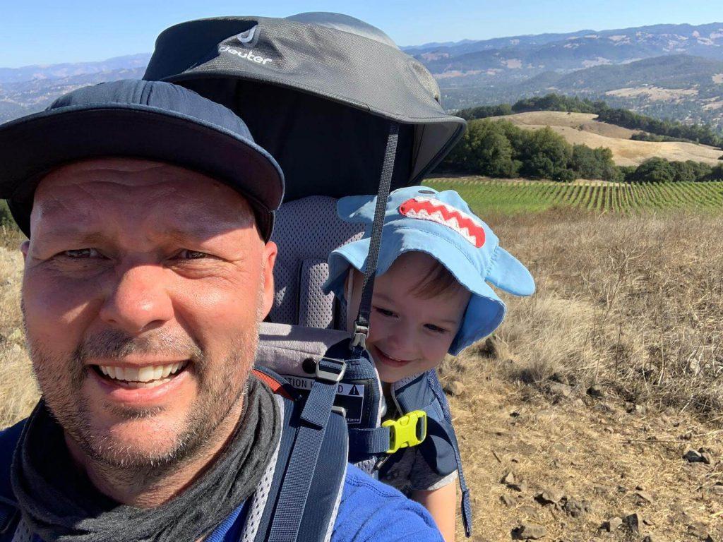 Deuter Kid Comfort Active baby carrier for hiking
