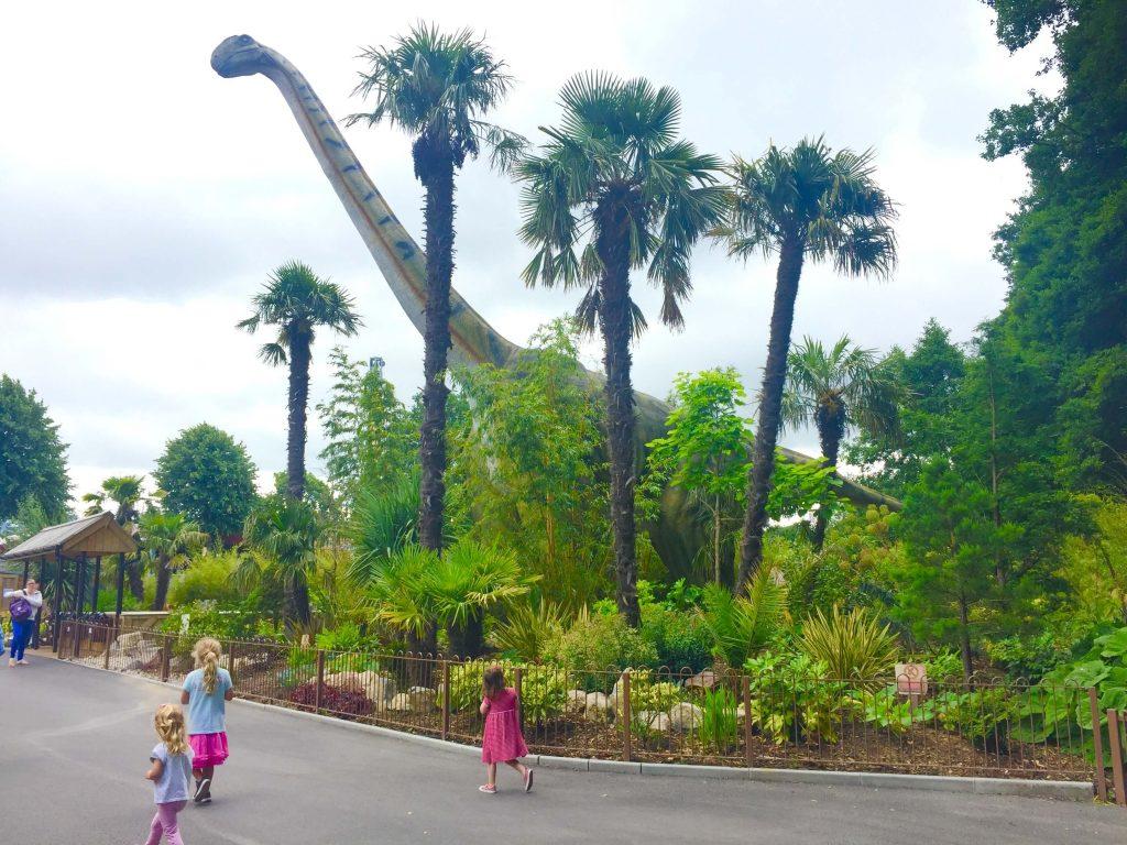 dinosaurs at paultons park, Dinosaur Days Out