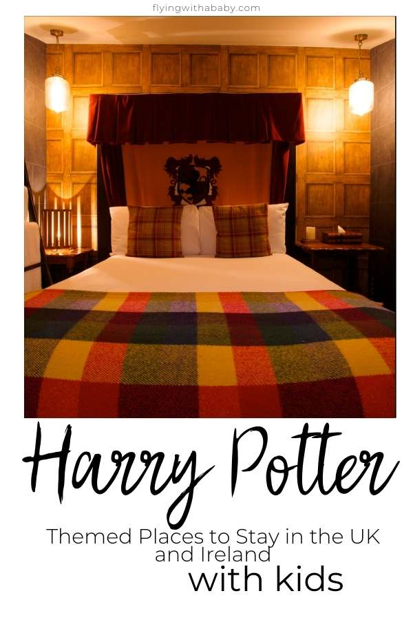 Harry Potter themed hotels in the UK and Ireland
