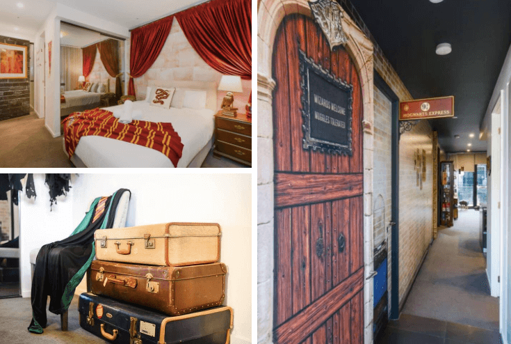 Wizarding Room of Melbourne, Melbourne, Victoria - image courtesy Airbnb