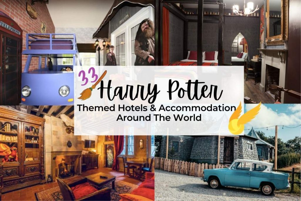 33 Magical Harry Potter Themed Hotels & Accommodation Around The World