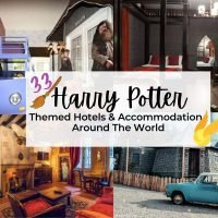 33 Harry Potter themed hotels and accommodation around the world