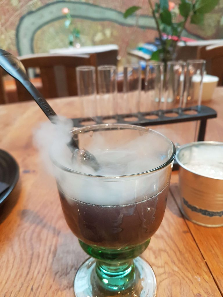 Cocktail potion making at the Georgian House Hotel, a Harry Potter Themed Hotel in England