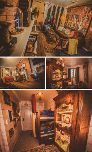 Harry Potter Inspired Apartment, Troyes image courtesy of Airbnb