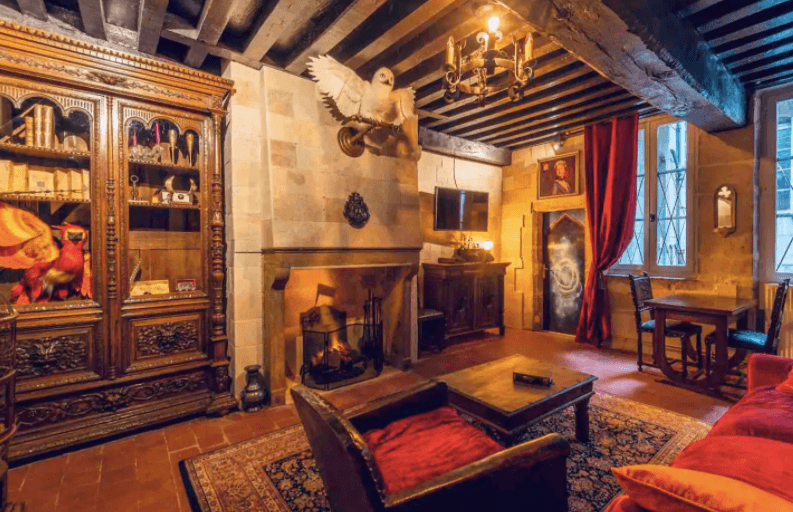 Harry Potter themed apartment, Dijon