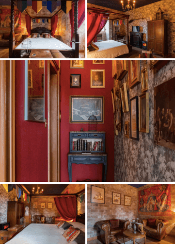 Harry Potter themed room, Colmar