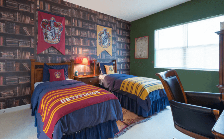 House with Harry Potter Themed Room, Osceola County, Florida Image courtesy of Airbnb