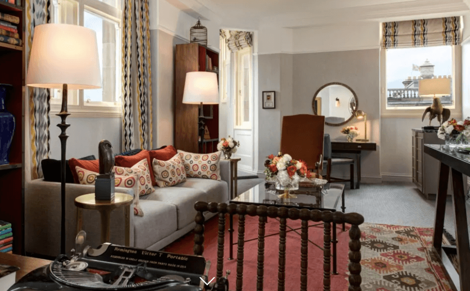 Harry Potter Themed Hotel in England, JK Rowling Suite