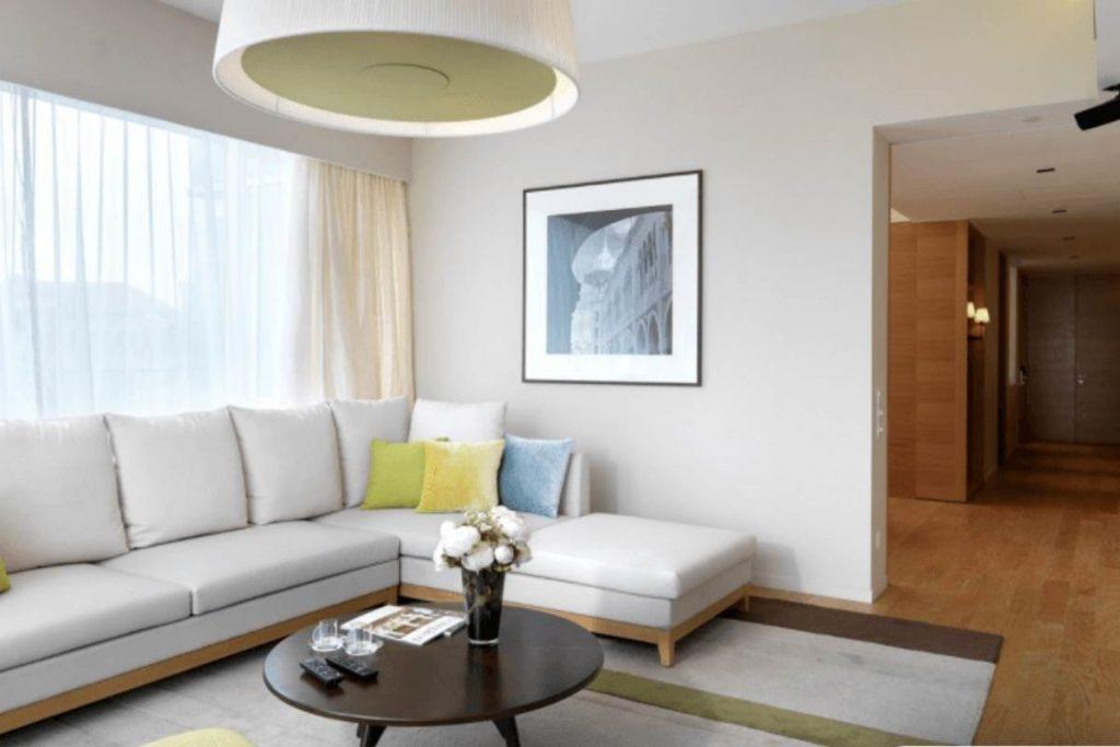 Lanson Place serviced apartments in Bukit Ceylon. Kuala Lumpur with kids