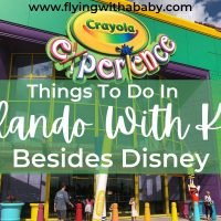 The Crayola Experience is just one of the many things to do In Orlando With Kids Besides Disney