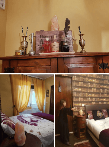 Harry Potter themed house in York ( image courtesy of Airbnb)