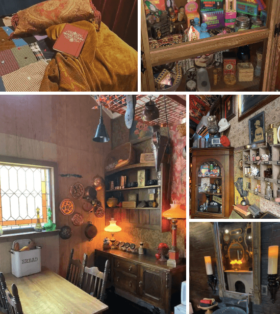 Harry Potter house, Georgia, Courtesy Airbnb