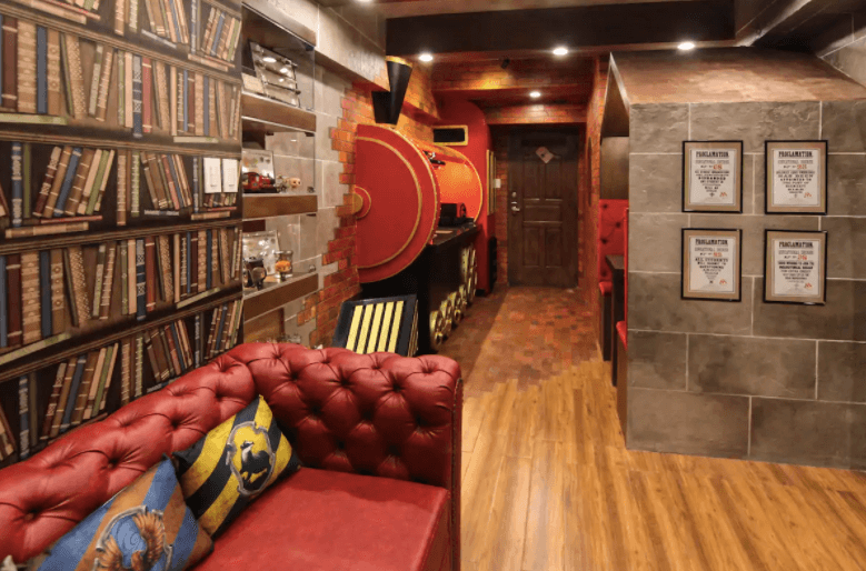 Tagaytay Harry Potter suite (image airbnb)