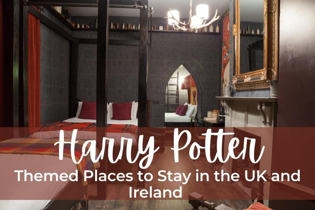 harry potter themed places to stay in the uk and ireland