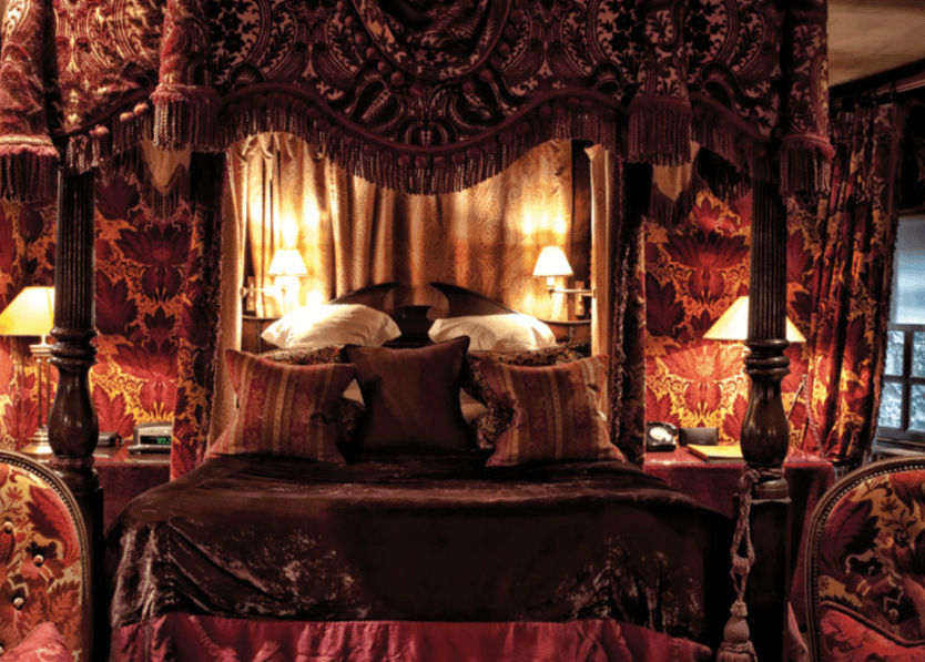 Harry Potter Themed accommodation at The Witchery