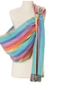 Hipbaby rainbow ring sling
