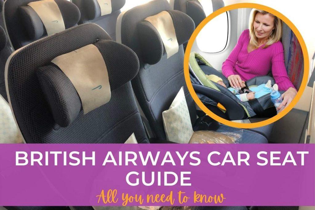 BA car seat guide.