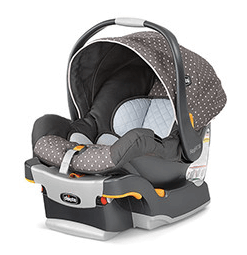 Chicco Key Fit Infant car seat is FAA approved for flights