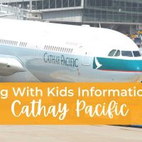 Flying With Kids Information Cathay Pacific