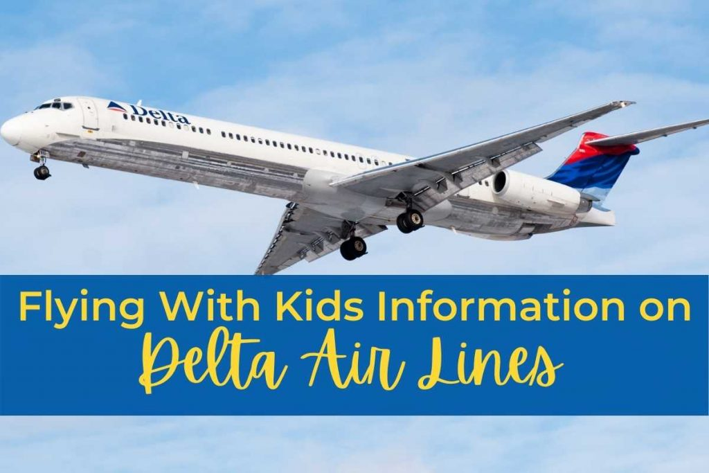 Flying With Kids Information Delta Air Lines