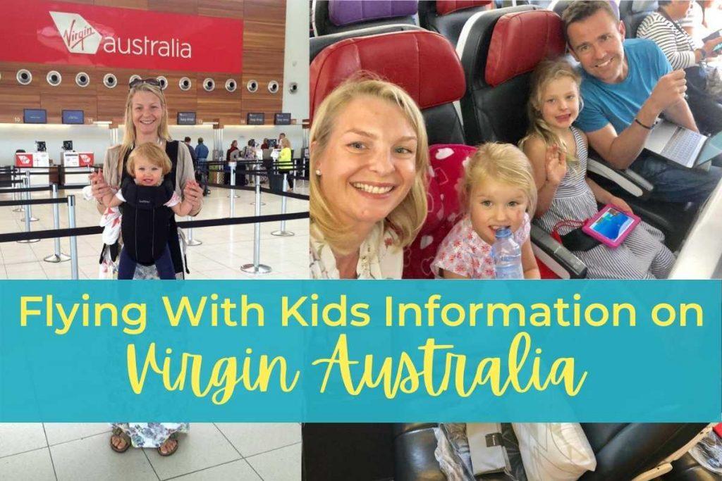 Flying With Kids Information Virgin Australia