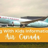 Flying with kids information on Air Canada