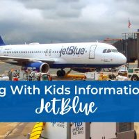 Flying with kids information on JetBlue