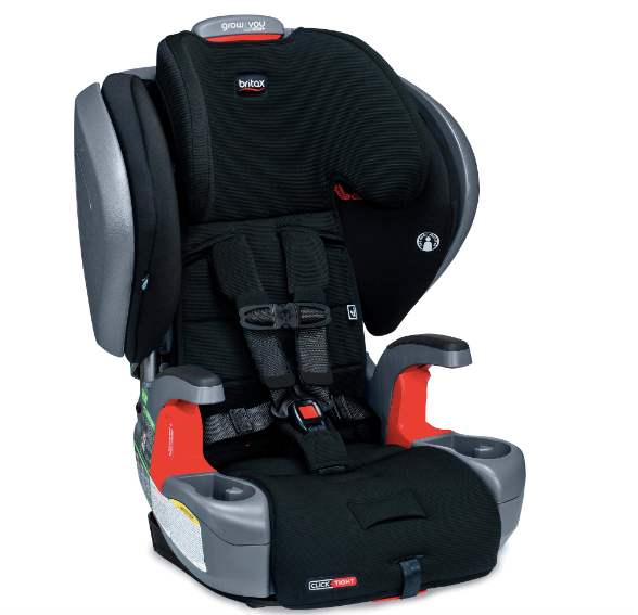Grow With You ClickTight Plus Harness-2-Booster Car Seat is FAA approved in forward facing harness mode only.