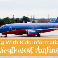 Flying With Kids Information on Southwest airlines
