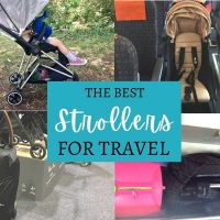 best strollers for travel need to be compact and practical