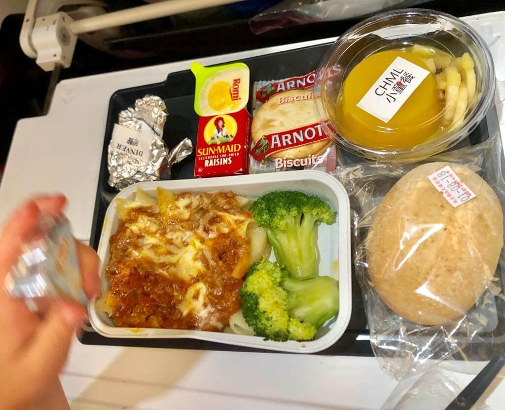 Child Meal on Virgin Australia, Virgin Australia Flying With Kids