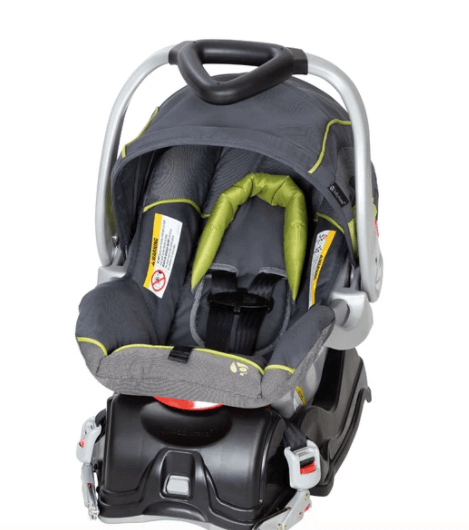 Baby Trend Flex Loc infant car seat which is FAA approved