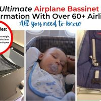 The Ultimate Airplane Bassinet Seat Information With Over 60+ Airlines (2021)