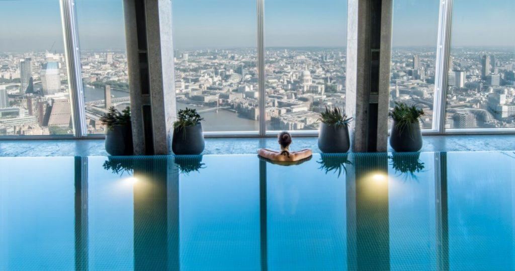Best Indoor Hotel Pools For Kids In London Shangri La The Shard