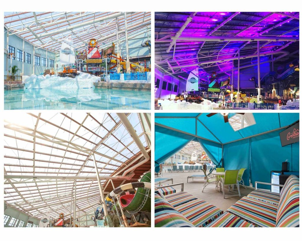 Camelback Resort indoor pool, one of the Best Indoor Hotel Pools For Kids In The USA