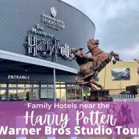 Family hotels near the harry potter Warner Bros studio Tour